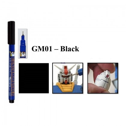 Gundam Lining Pen Mr. Hobby (GM01-GM03 / GM301-GM303 / GM20-GM21)